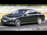 2014 Mercedes-Benz S65 AMG Testing at the Nürburgring