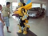 BumbleBee Transformers Suit