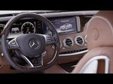 New Mercedes-Benz S 500 Coupe / Interior