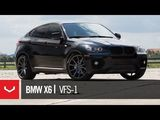 BMW X6 on Vossen VFS-1