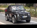 700HP Mansory Mercedes G500 V8 SOUND