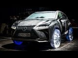 Lexus NX on Ice Wheels