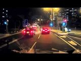 Nissan GTR R35 Crashes into Mercedes Benz C Class in Hong Kong