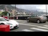 Woman SCARED by Koenigsegg CCX in Monaco