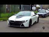 BMW i8 Coupe Drag Racing vs Other Supercars