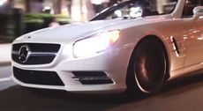 Mercedes-Benz SL550 on Vossen 20' VFS2 Concave Wheels