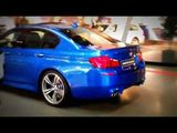 BMW M5 F10 Exhaust sounds