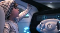 "Mercedes-Benz F 015 - Commercial ""Baby""."