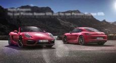 New Porsche Boxster GTS and Cayman GTS