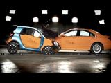 2014 Mercedes-Benz S-Class vs. 2015 Smart Fortwo - Crash Test