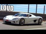 Koenigsegg CCX Sound - Start Ups and Acceleration