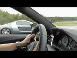 BMW M3 F80 DKG vs Audi R8 4,2 6-speed manual