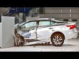 Crash Test 2016 Nissan Maxima
