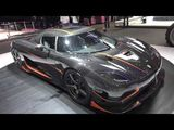 Exterior of Koenigsegg Agera RS in superdetail