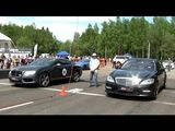 Mercedes S 65 AMG vs Bentley Continental GT vs Nissan GT-R