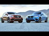BMW X6 M vs. Mercedes-AMG GLE63 S Coupe