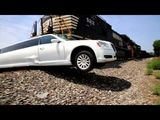 Amazing Limo vs Train Crash