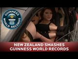 Guinness World Records - 16 Girls in a Smart Car