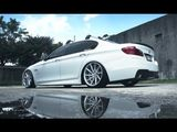 BMW 5-Series on Vossen CVT Directional Wheels