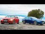 2015 BMW 335i M Sport vs. 2016 Jaguar XE S