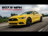 Hennessey Mustang - 207.9 mph