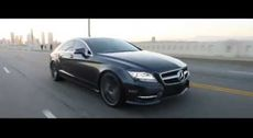 Mercedes-Benz CLS 550 on Vossen 20' VFS2 Concave Wheels