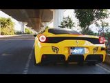 Ferrari 458 Speciale with iPE Innotech Performance Exhaust