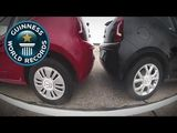 Tightest Parallel Parking. Guinness World Record!