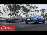 Audi S3 (Tuned) vs New Audi RS6 Avant