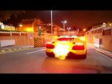 Lamborghini Aventador Shooting Flames! - LOUD acceleration!