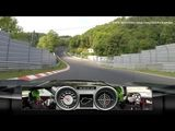 Mercedes-Benz SLS AMG Black Series on the Nordschleife