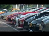 Incredible supercar line-up + sounds