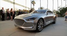 Hyundai Vision G Concept - First Look